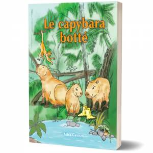 Le capybara botte book